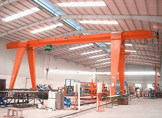 Order single girder gantry crane price