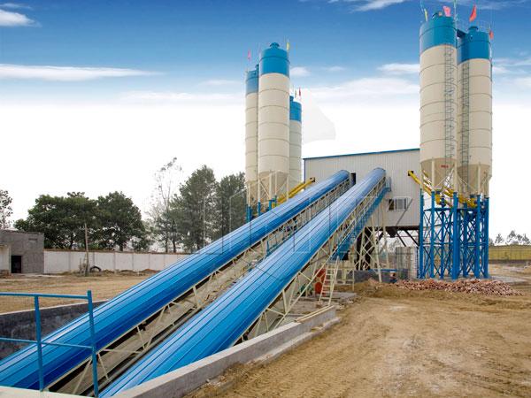 HZS120 concrete plant