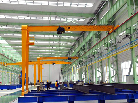 portable semi gantry crane for sale