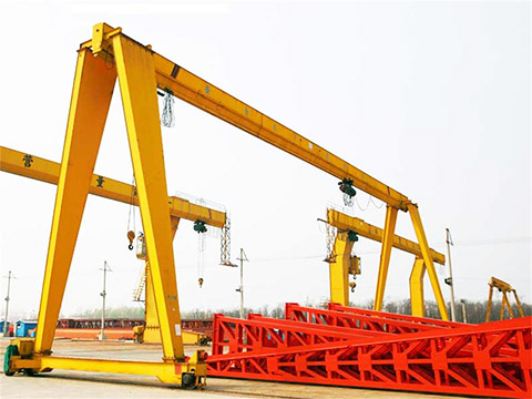 portable single girder gantry crane for sale