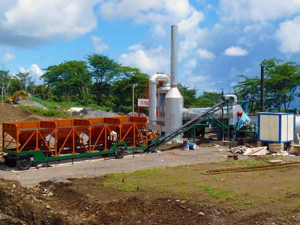 portable asphalt mixing plant